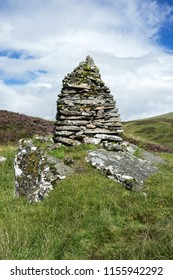 A stone pile at Ben Lawers