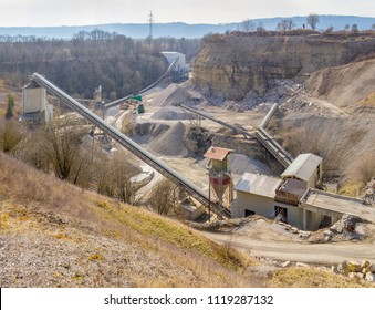 stone pit scenery in Southern Germany