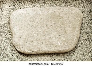 stone plate antique stile