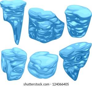 Stone Plate Set / vector id : 94638088
