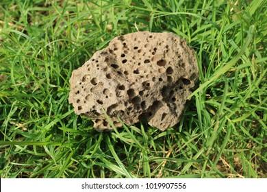 stone pumice volcano