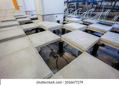 stone raised floor