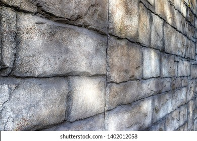 Stone rock brick block pattern texture in normal light