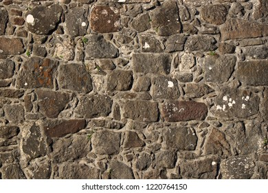 stone rock brick block pit background  pattern wall paper back wall ground  raw urban aged design flint tile masonry shell cement concrete old vintage wallpaper backdrop structure textue