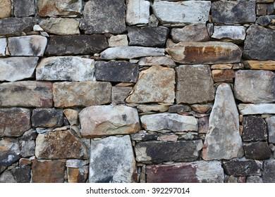 Stone Rock Wall