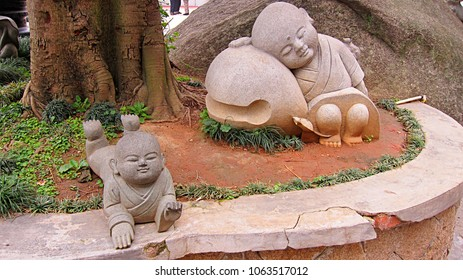 A stone sculpture in Fujian Xiamen,china
