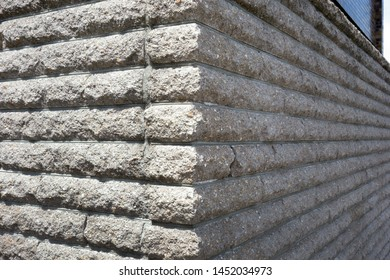 Stone of the siding outer wall
