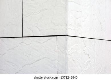 Stone siding wall background