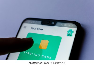 Imágenes, fotos de stock y vectores sobre Starling Bank Account