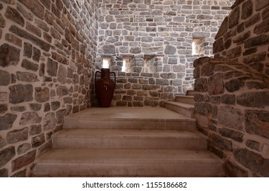 Stone stairs in the Castle