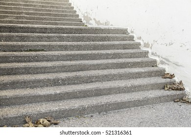 Stone stairs in urban city
