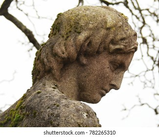 Stone Statue / Sculpture of a Man in Greek Classical Style