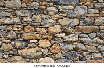 Stone structure from a wall
