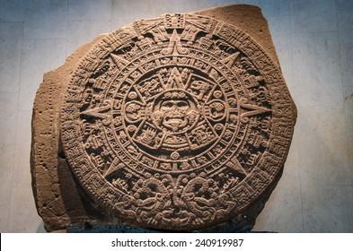 Stone of the sun - the Mayan calendar