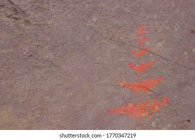 Fondo de textura de piedra con fósil
