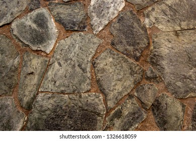stone texture. close up  of stone wall