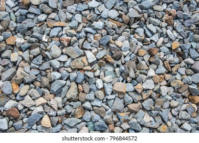 stone texture, railway ballast, gravel background