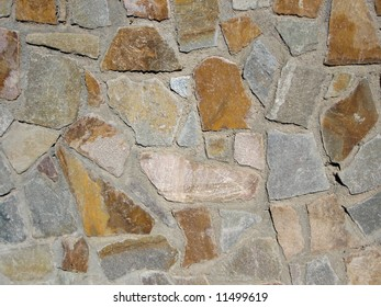 Stone texture from a wall in a village