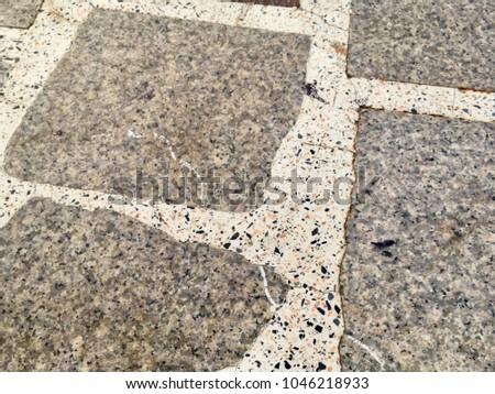 Tile Floor Texture Design Pattern Stone Tile Floor Texture For Background Design Popular Flooring Stone Tile Floor Texture Background Design Stock Photo edit Now