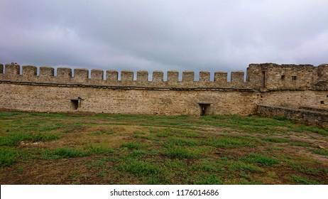 stone wall of the Akkerman fortress