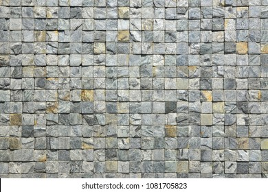 Stone wall background. Loft style gray stone texture decorative