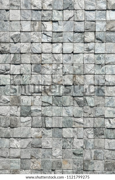 Stone wall background Loft style gray stone texture decorative