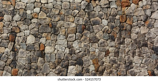 stone wall for background or texture.