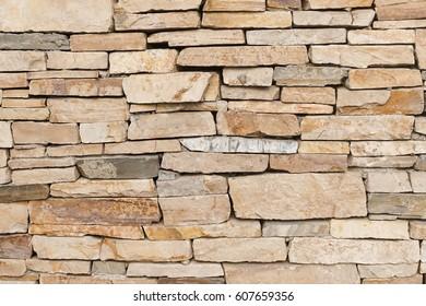Stone wall or brick wall texture