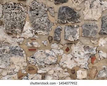 stone wall dutch texture architecture
