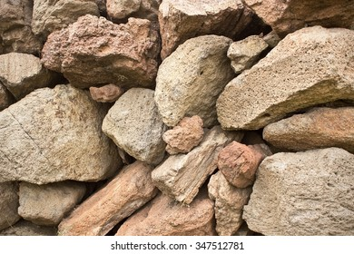 Stone Wall Fence for Background