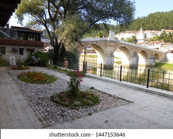 Stone wall in Konjic! -The white stone bridge on the Neretva River is the jewel of Herzegovina. The river Neretva is the heart of Herzegovina. An excellent tourist location that we recommend to visit.