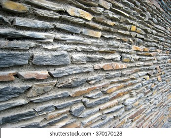 Stone Wall Landscaping Detail Patterns