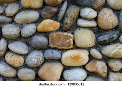 Stone Wall made of  stones