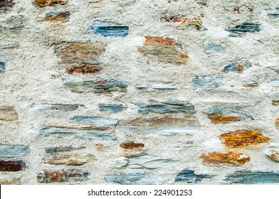 stone wall -  rock, solid, background, cement, frame,  pattern, block, surface, closeup, wallpaper, rough