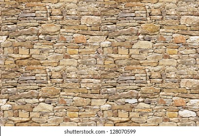 Stone wall rustic texture big seamless background