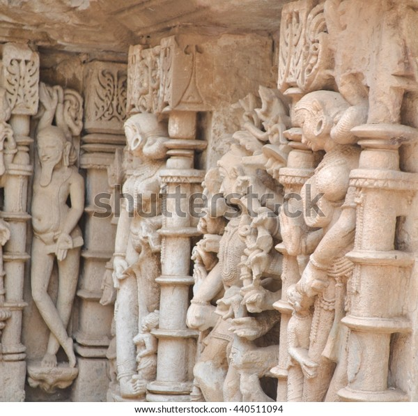 Stone Wall Sculptures Details