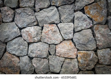Stone wall texture background natural color