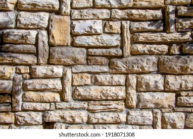 Stone wall texture. Stone wall as background or texture. Part of a stone wall, for background or texture