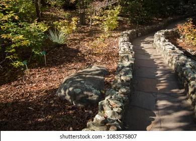 Stone Walls - Rock City Walkway - Chattanooga Tennessee