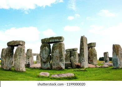 Stonehenge an ancient prehistoric monument in Wiltshire near Salisbury, England, UK.