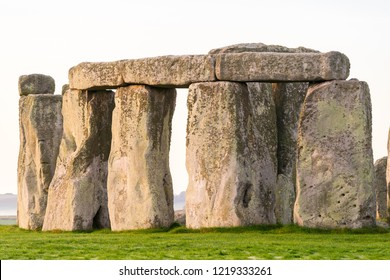 Stonehenge close up view in England
