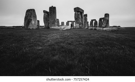 The Stonehenge from a different vantage point. (Wiltshire, England)