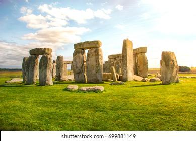 Stonehenge in the Evening