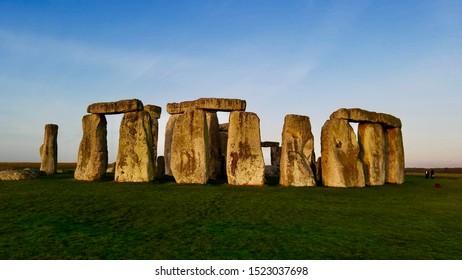Stonehenge Inner Circle at Dawn