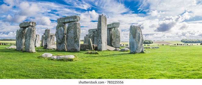 Stonehenge landscape, England