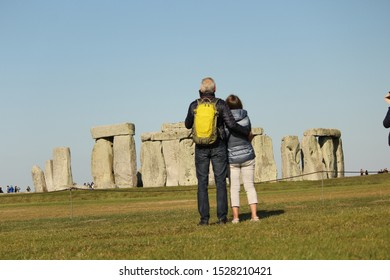 Stonehenge, Neolithic ancient standing stone circle monument, UNESCO World Heritage Site, Wiltshire, England, United Kingdom