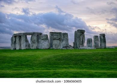 Stonehenge of Salisbury, England