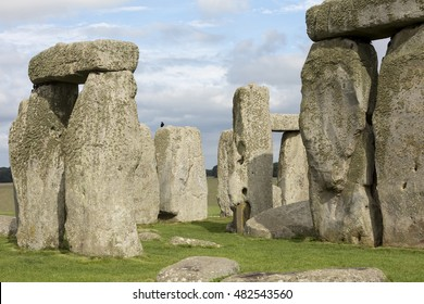 Stonehenge. In Wiltshire, England the magnificent structure of Stongehenge can be found.