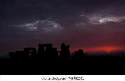 Stonehenge Winter Dawn
