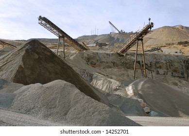 Stone-pit quarry